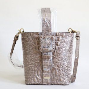 Brahmin Faith Leather Convertible Shoulder Bag